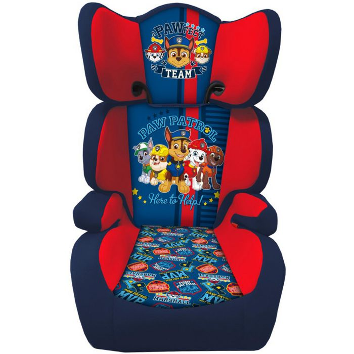Paw Patrol Kids Safety High Back Booster Car Seat Group 23