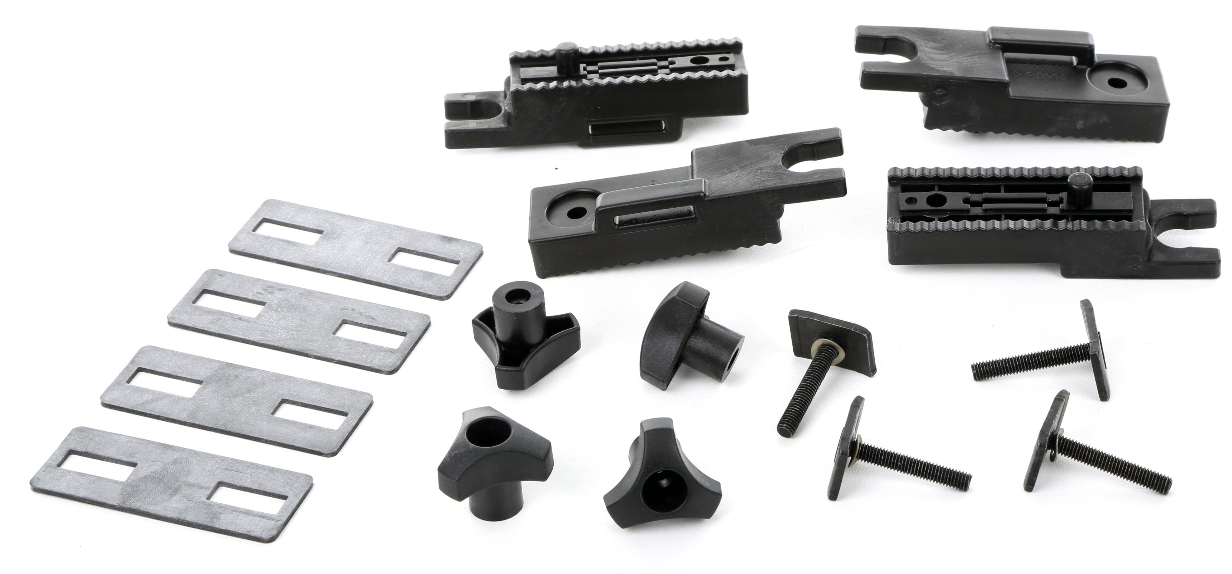 Exodus Roof Box Fitting T Track Kit T Bolts Load Spreader