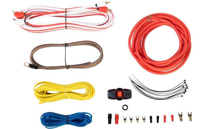 vibe 8 awg advanced amp wiring kit car audio ampiflier cable rh ebay co uk