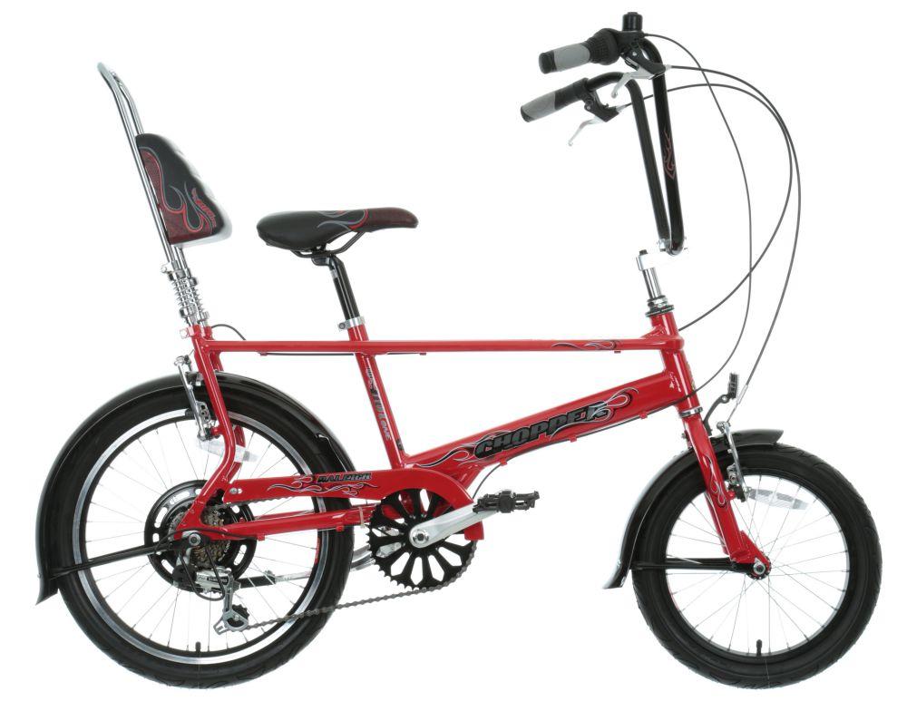 Raleigh Chopper Boys Girls Kids Bike Red Alloy Frame 6 Gears 20 ...