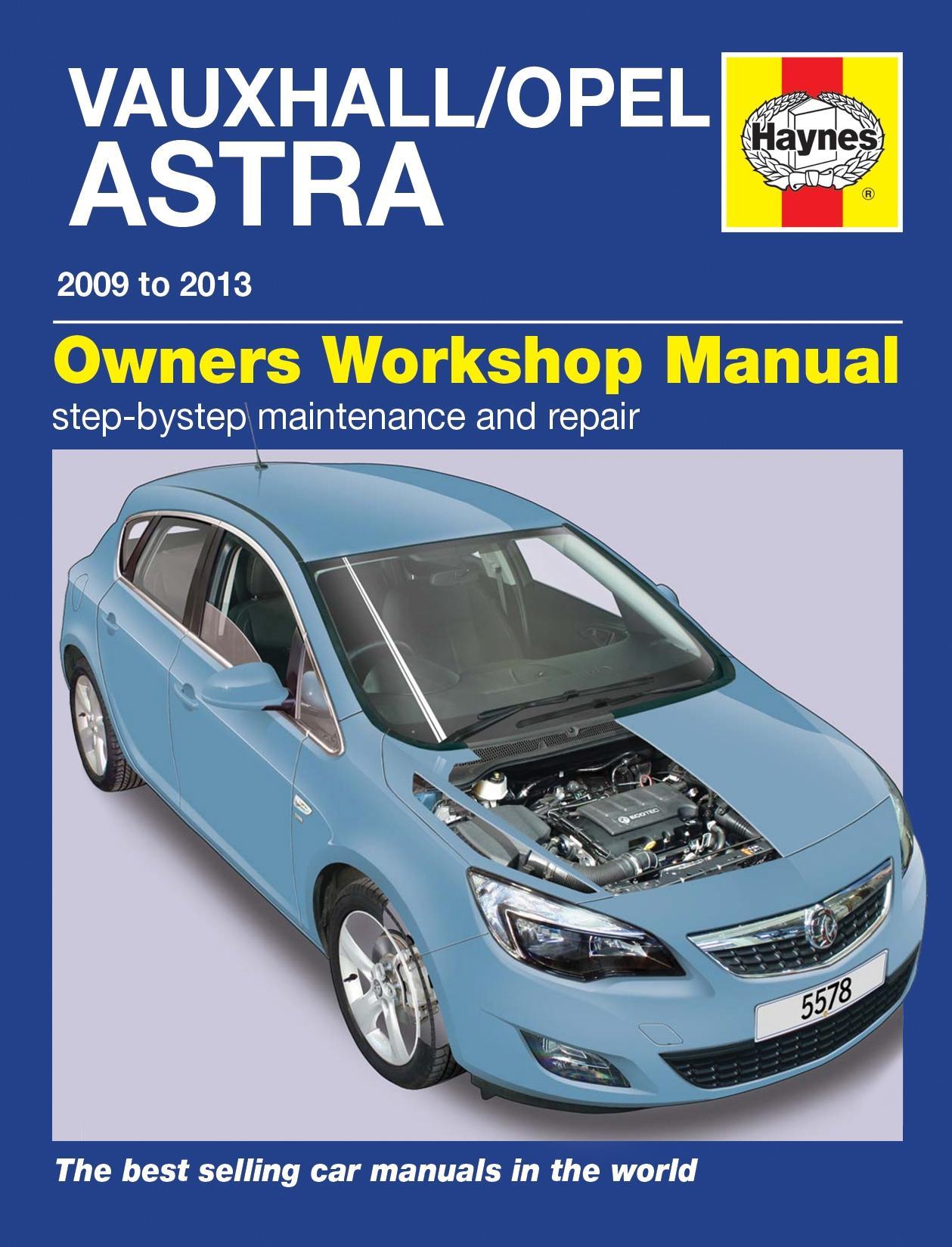 haynes owners workshop manual vauxhall opel astra 2009 2013 rh ebay co uk Craftsman Garage Door Opener Manual Professional Workshop Manuals