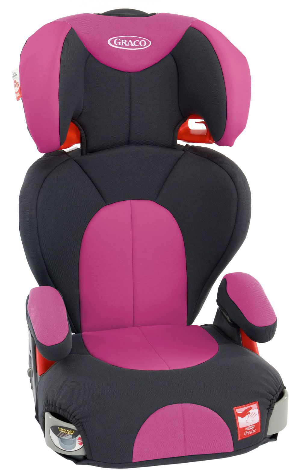 Graco Logico L Sport High Back Booster Seat Group 2 3 15 36kg 4 12 Yrs Pink 3660730035184