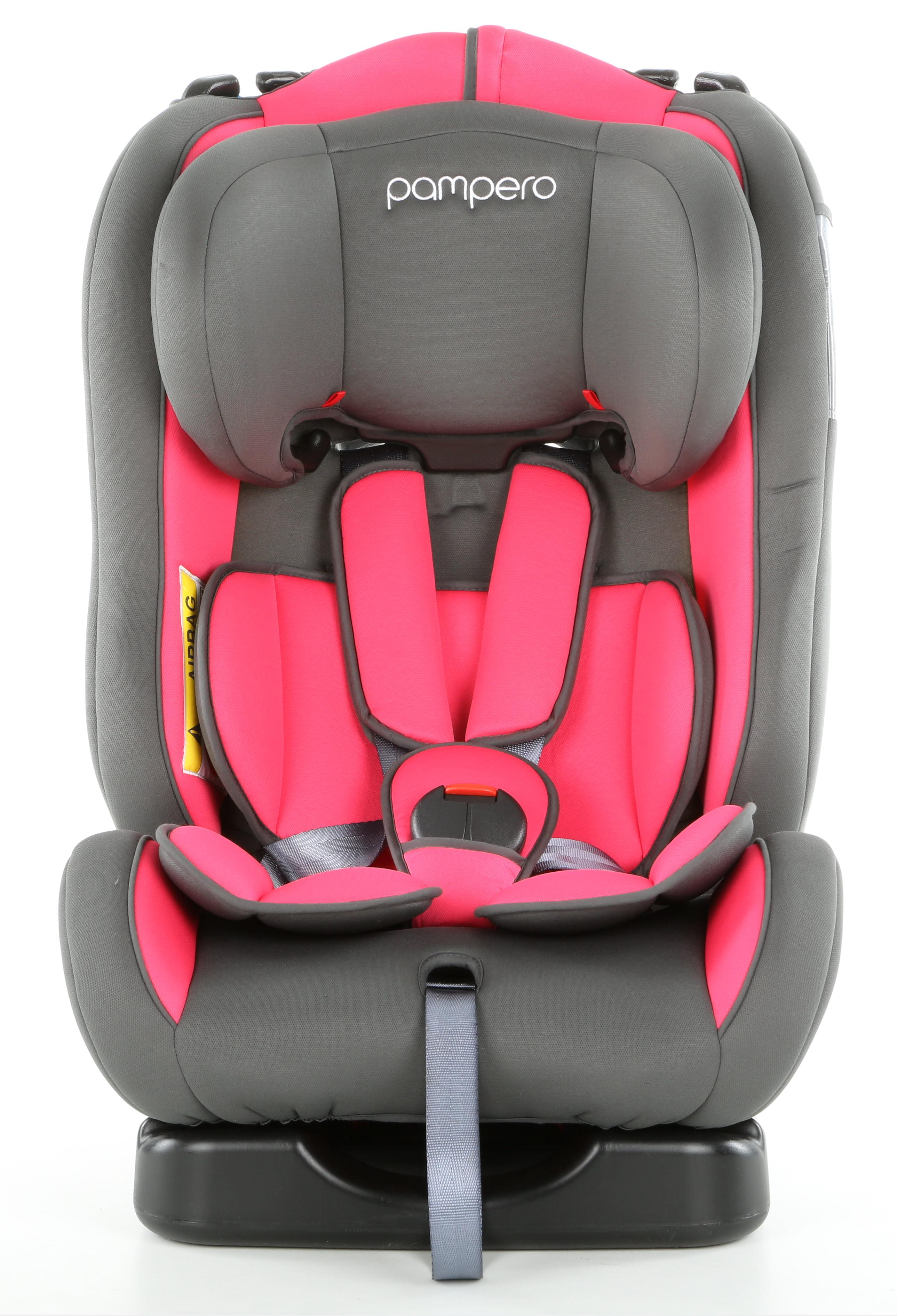 Pampero Cherub Baby Car Safety Seat In Pink