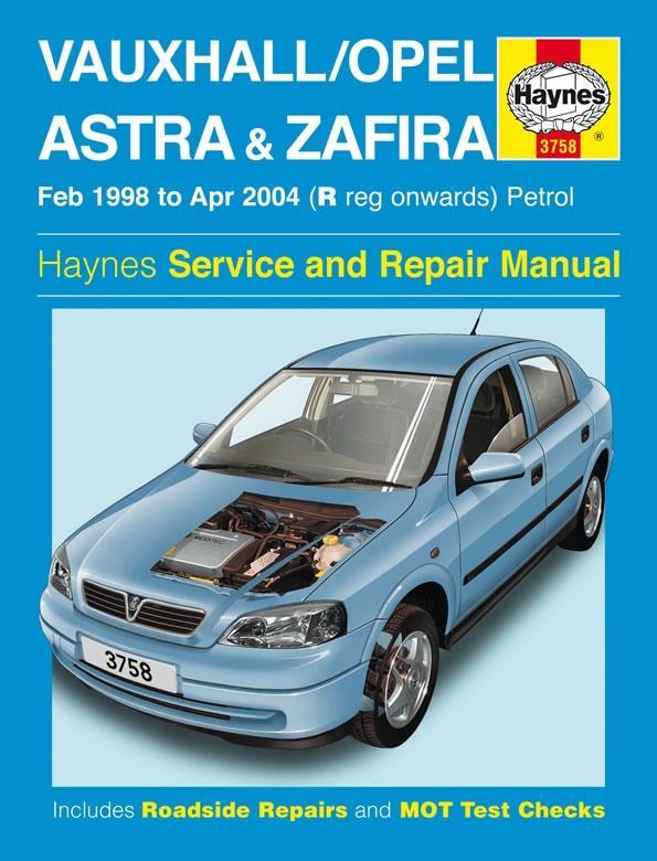 opel vauxhall zafira 1998 repair service manual