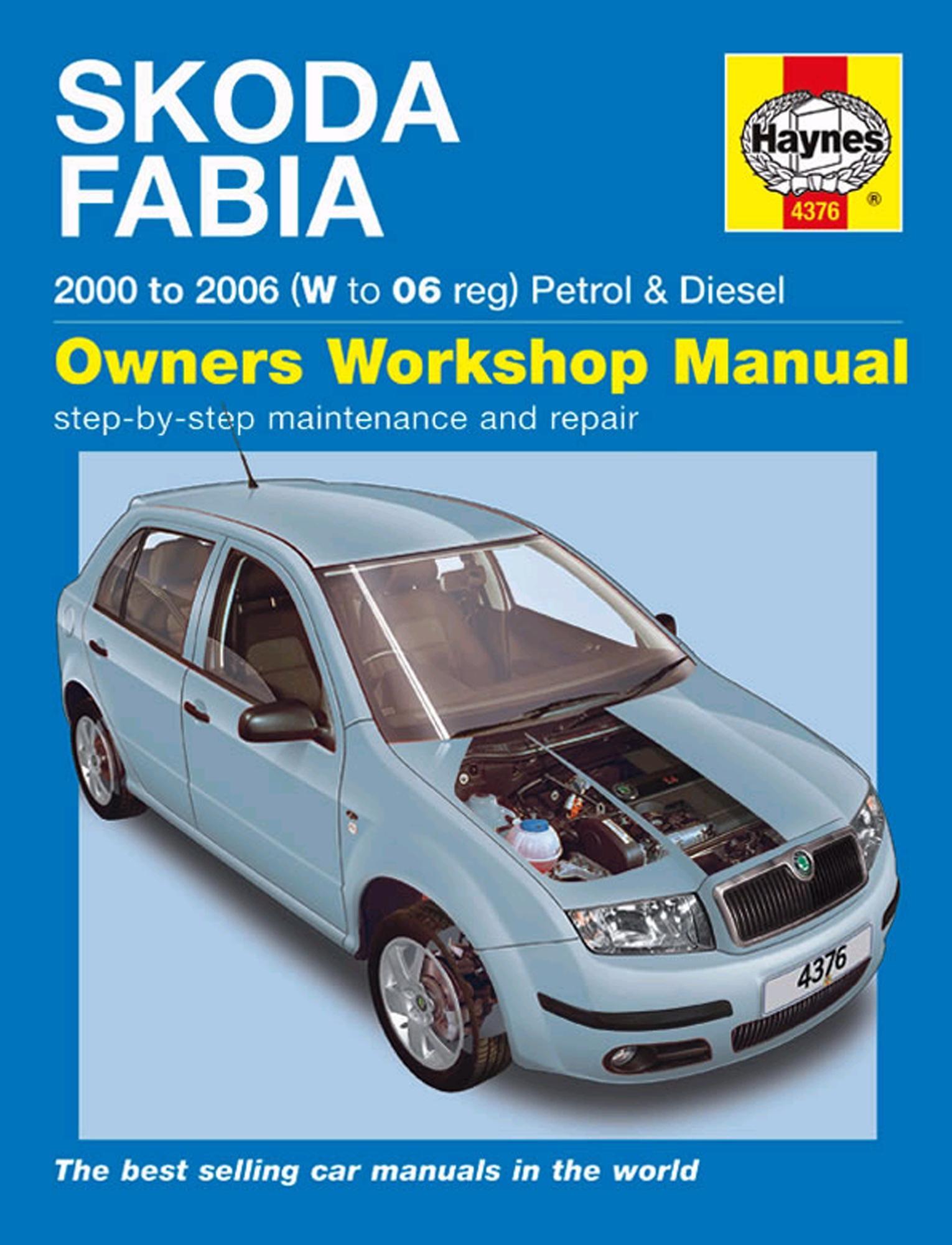 Haynes Owners Workshop Manual Skoda Fabia 2000-2006 Petrol Diesel  Maintenance