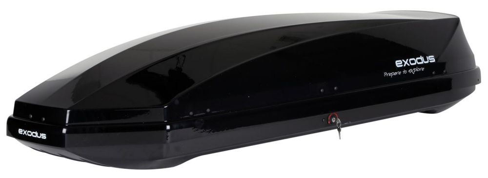 Exodus 360l Roof Box Black 12 300 About Roof