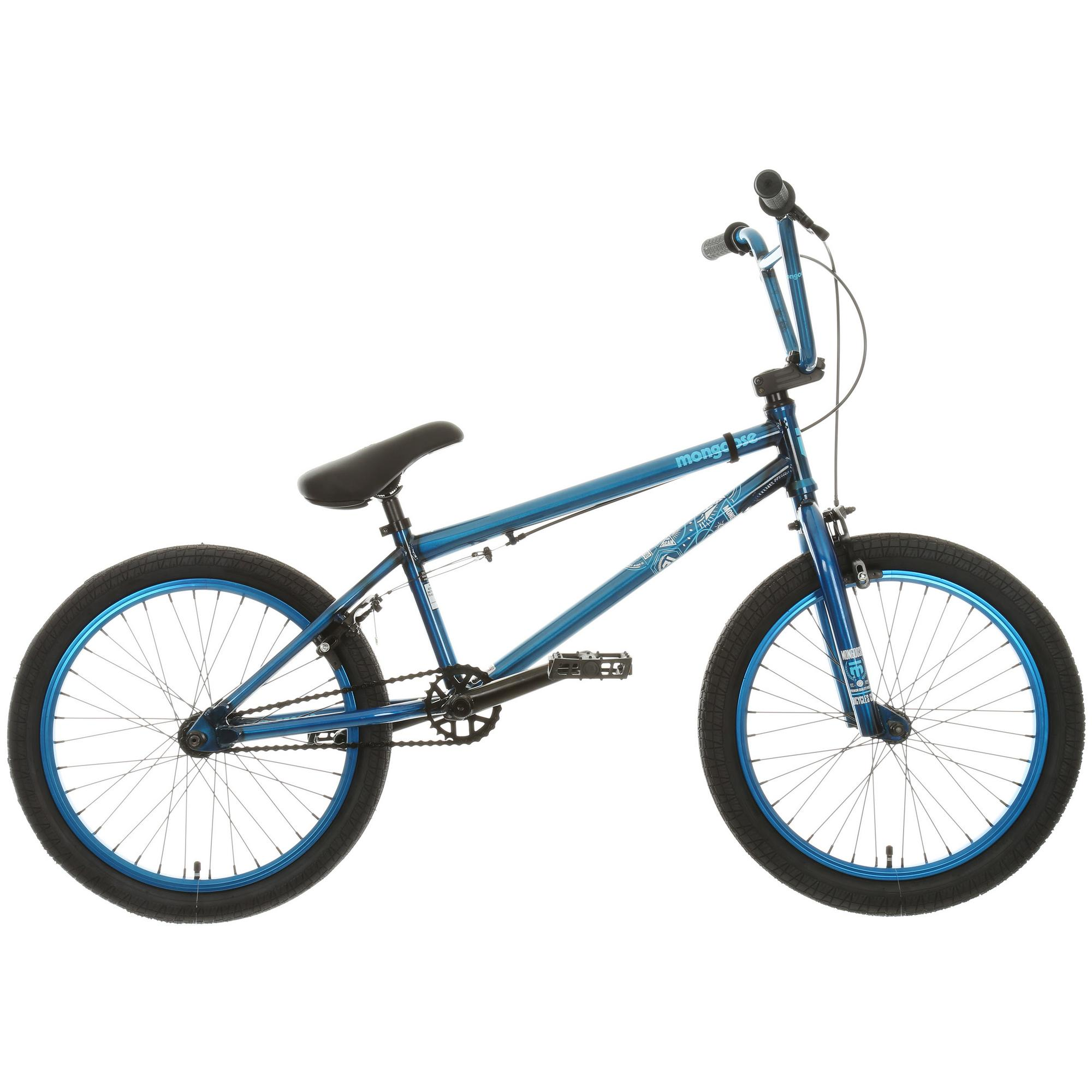 Mongoose Scan R90 Freestyle Bmx Bike Bicycle 20 Inch Wheels Chromoly Frame