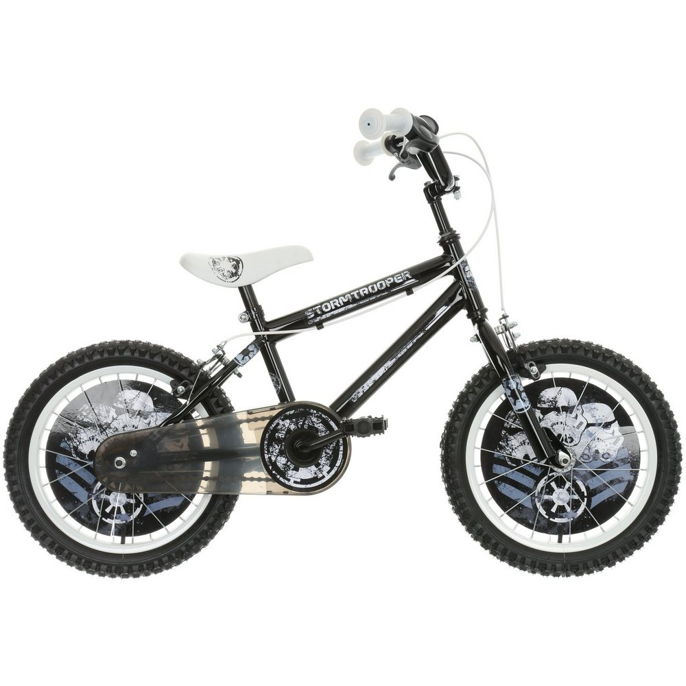 5d32c58d6e1 Star Wars Stormtrooper Kids Boys Bike Bicycle Steel Frame 16