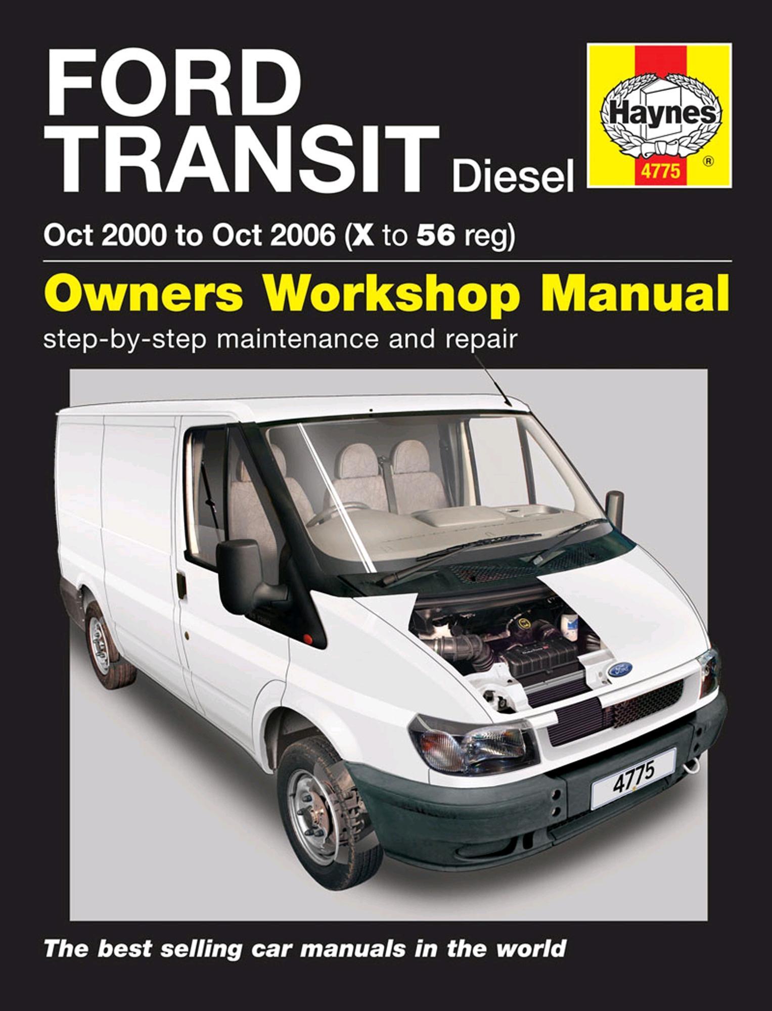 Haynes Owners Workshop Manual Ford Transit 2000-2006 Diesel Maintenance  Repair