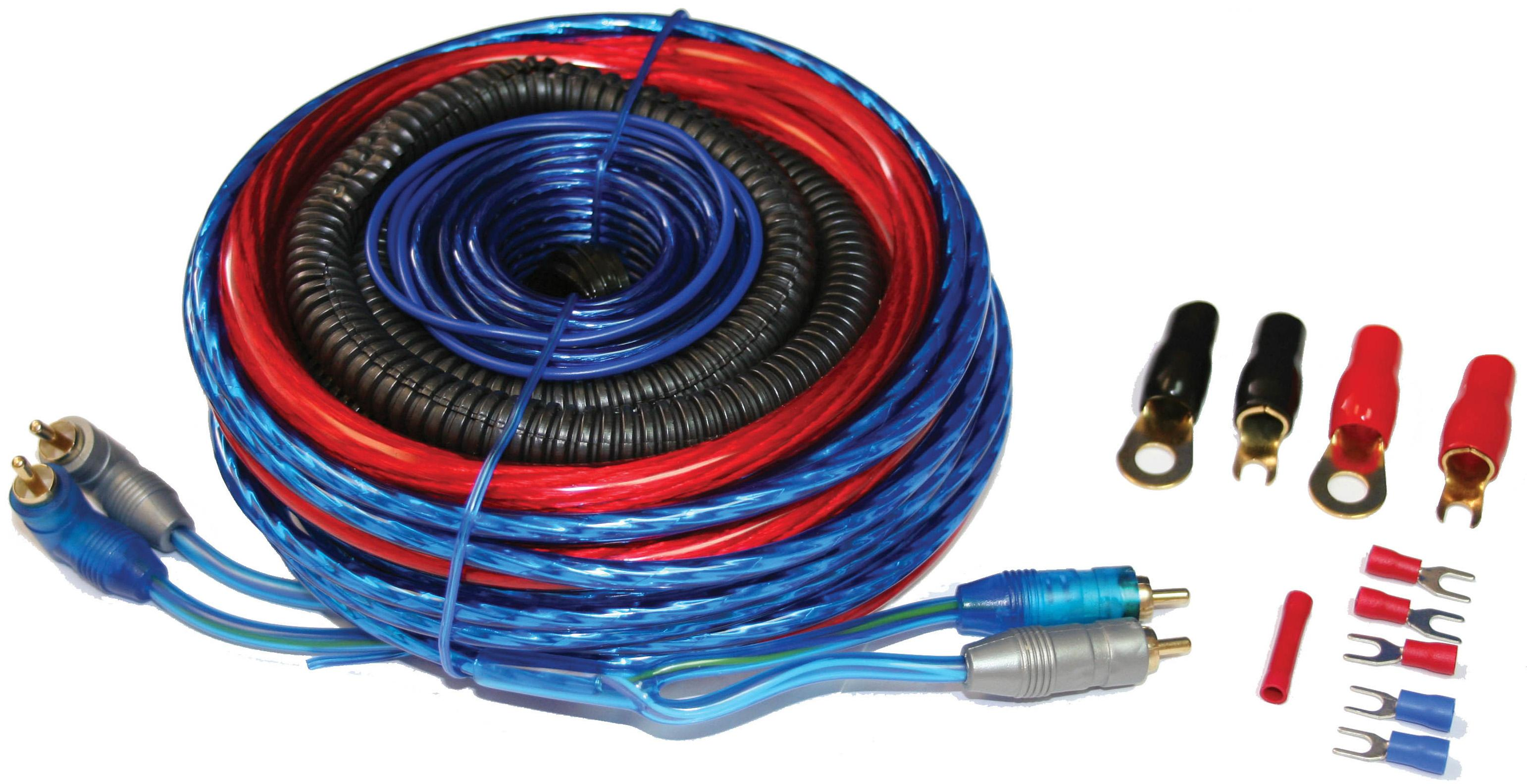 Autoleads 4AWG CCA Amplifier Wiring Kit