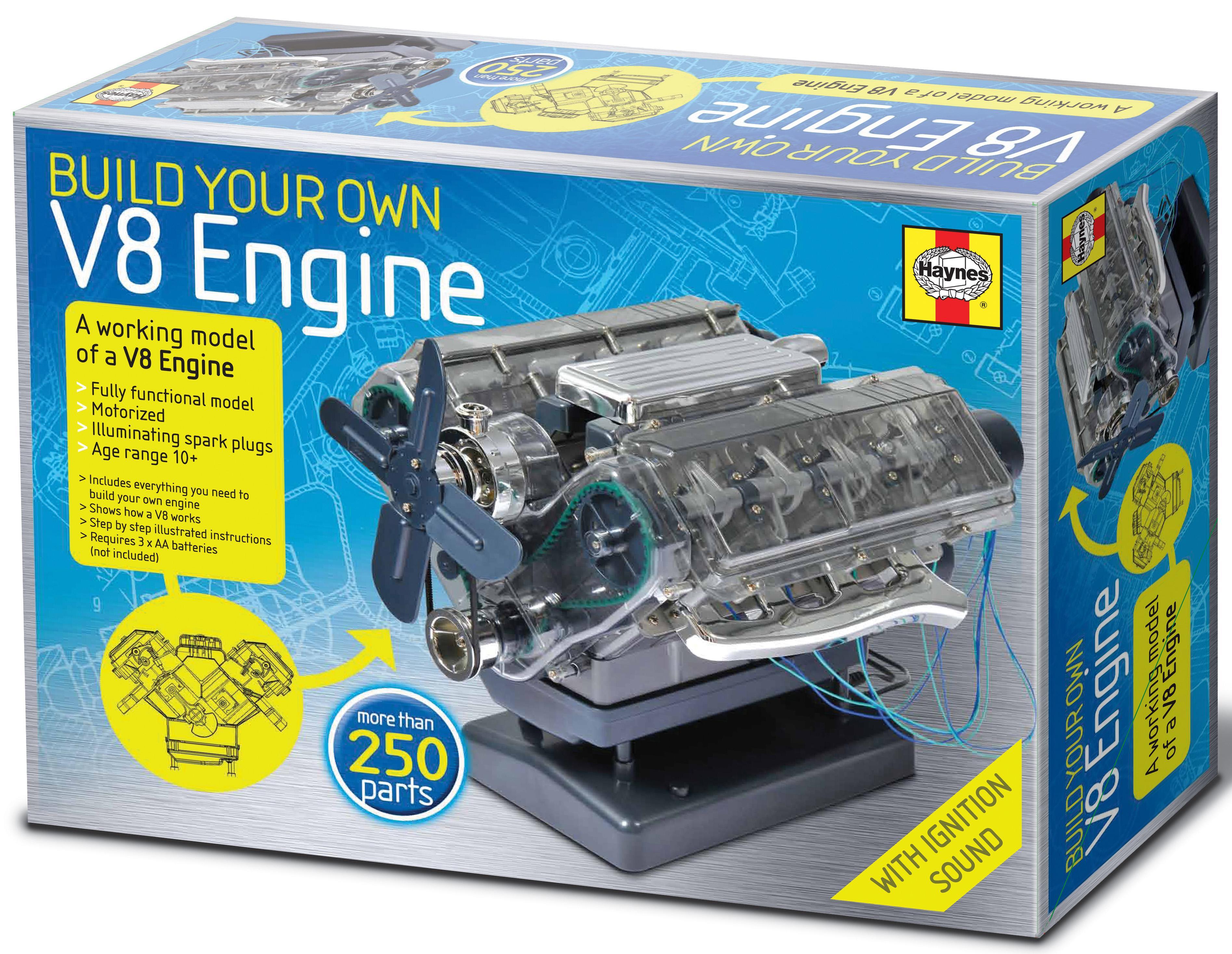 Brand New Build your own Haynes V8 Model Internal Combustion Engine Model  Kit
