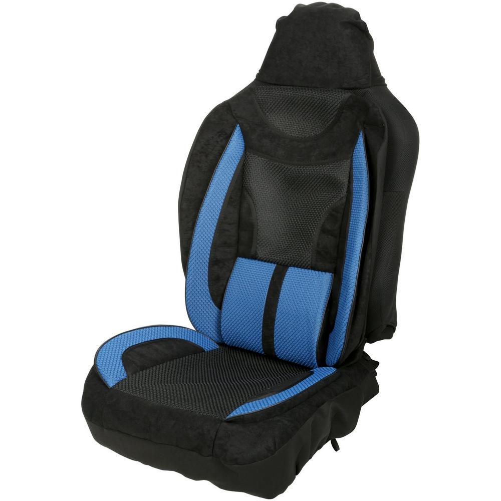 Halfords Lumbar Support Car Seat Cover High Density Foam