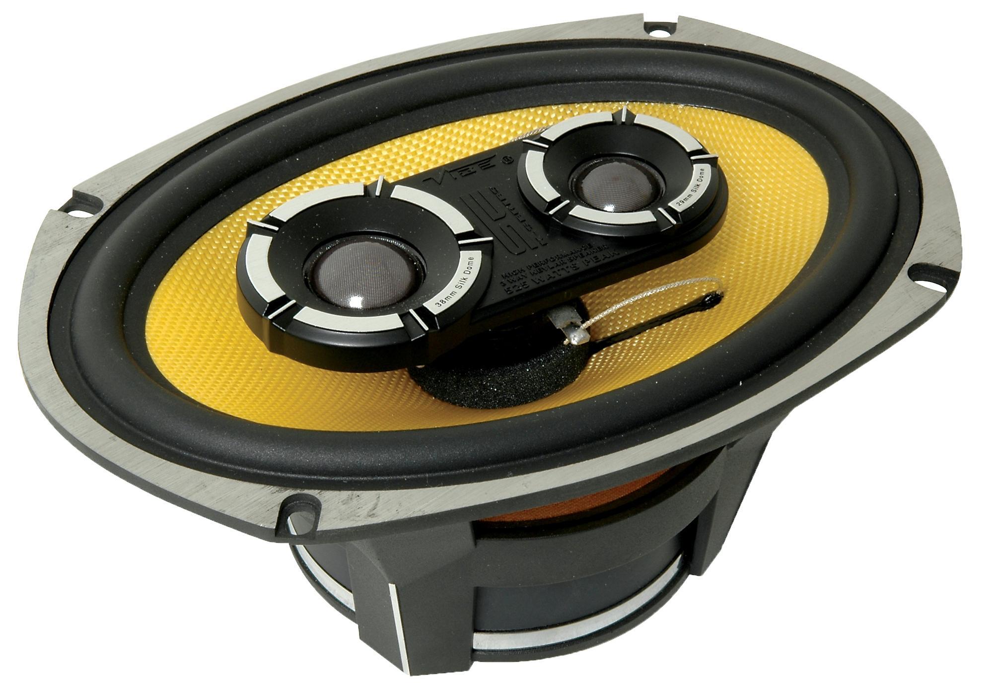Vibe Blackair69 6x9 3 Way Car Audio Stereo Coaxial Speakers 175w Amp Wiring Kit Halfords Rms 525w Peak