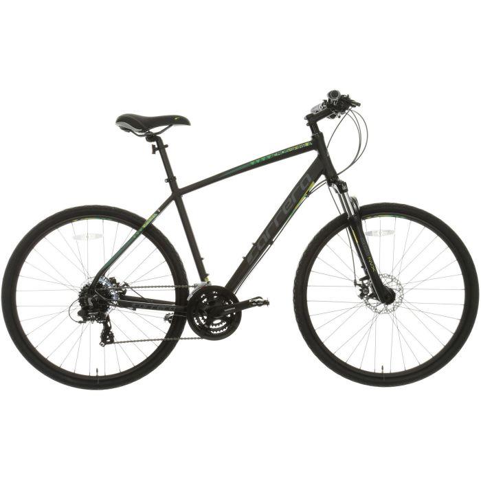 ab6d47ac1b4 Details about Carrera Crossfire 2 Mens Hybrid Bike Bicycle 24 Gears Shimano  700C Wheels Black