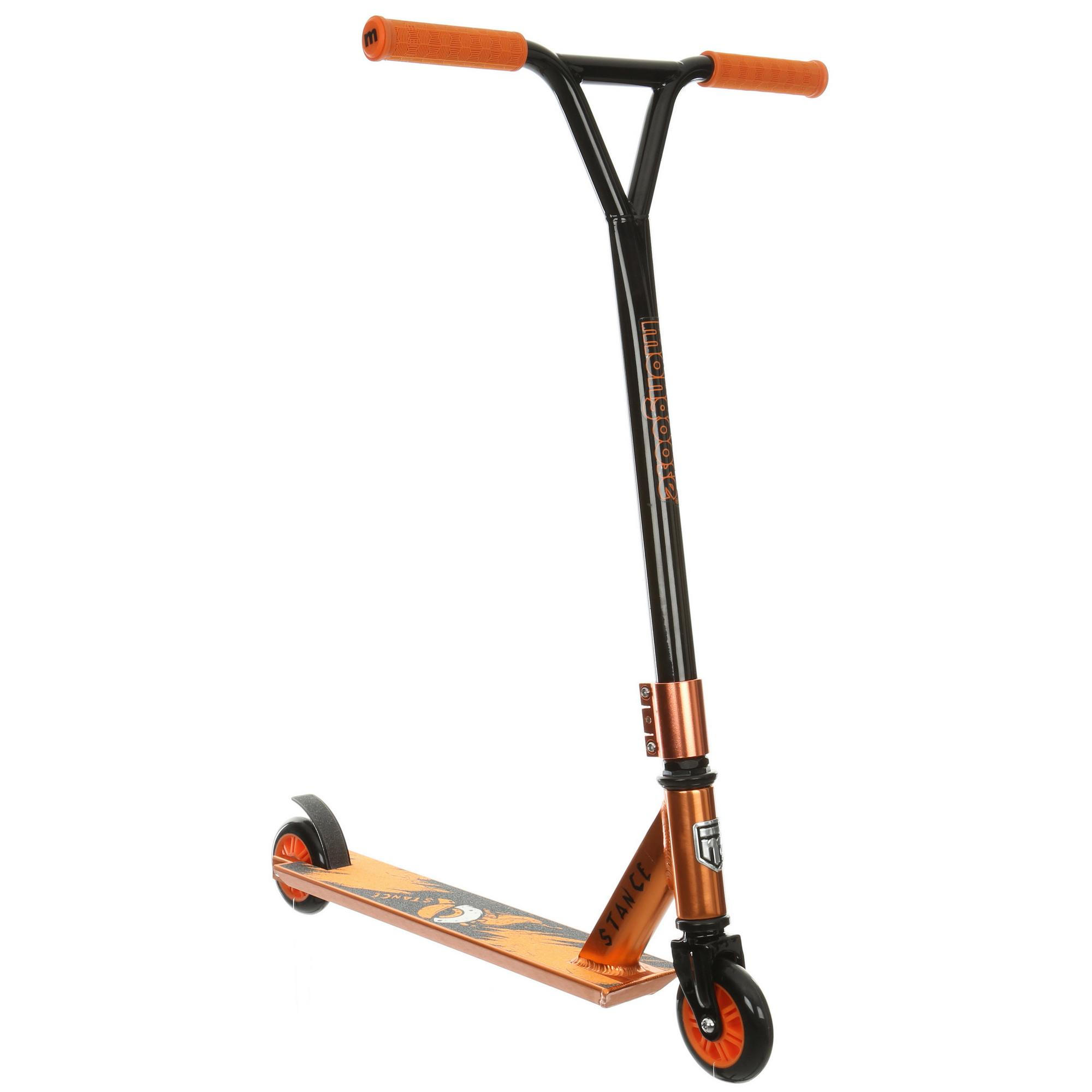 Mongoose Stance Kids Outdoor Steel Frame 100mm Wheels Push