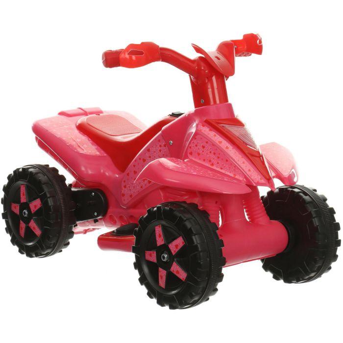 Roadsterz-Boys-Girls-Kids-6V-Rechargable-Battery-Electric-Ride-On-Quad-Bike-ATV