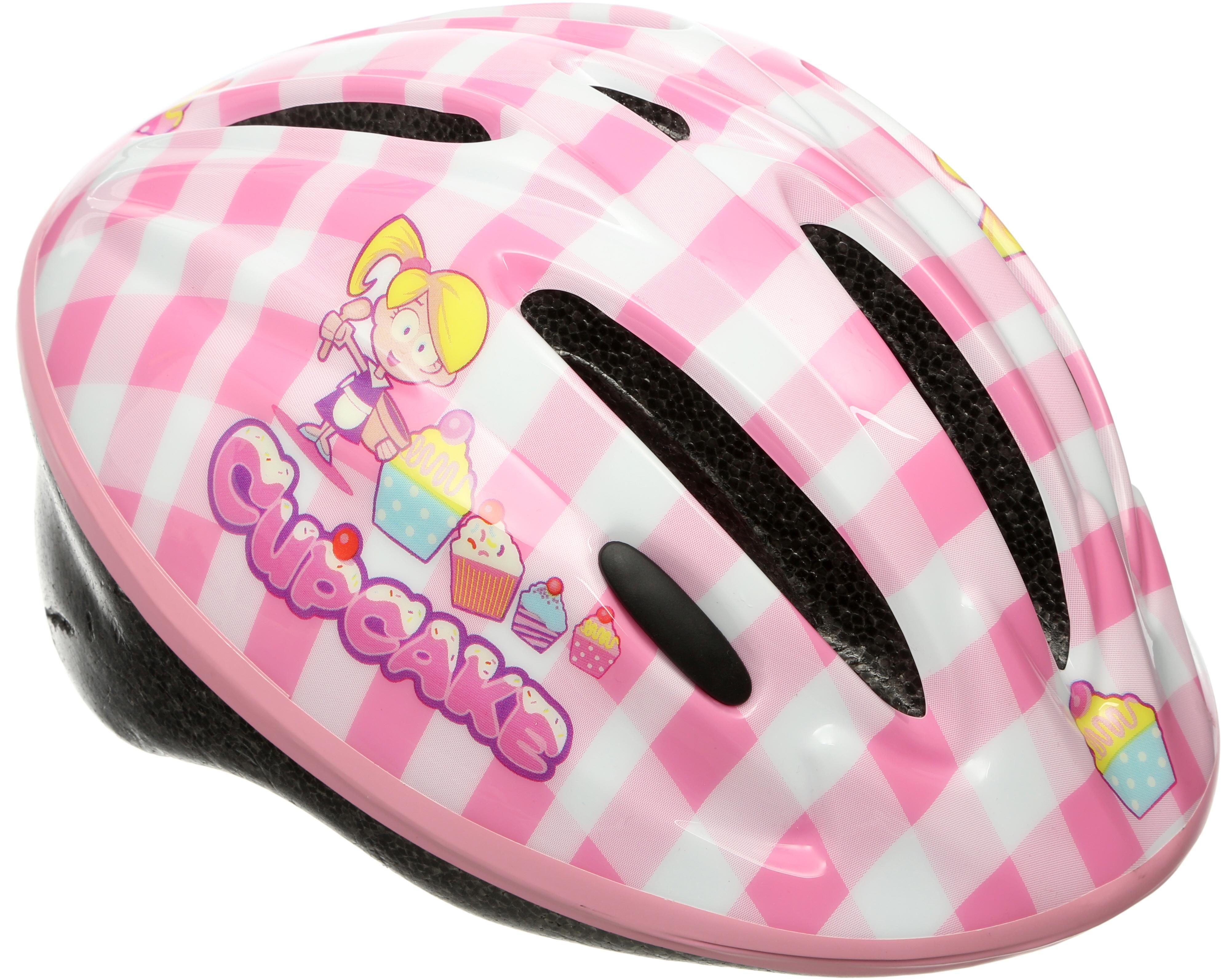 3b01072e4cb2 Apollo Cupcake Kids Bike Helmet (48-52cm) Childrens Bicycle Helm Adjustable