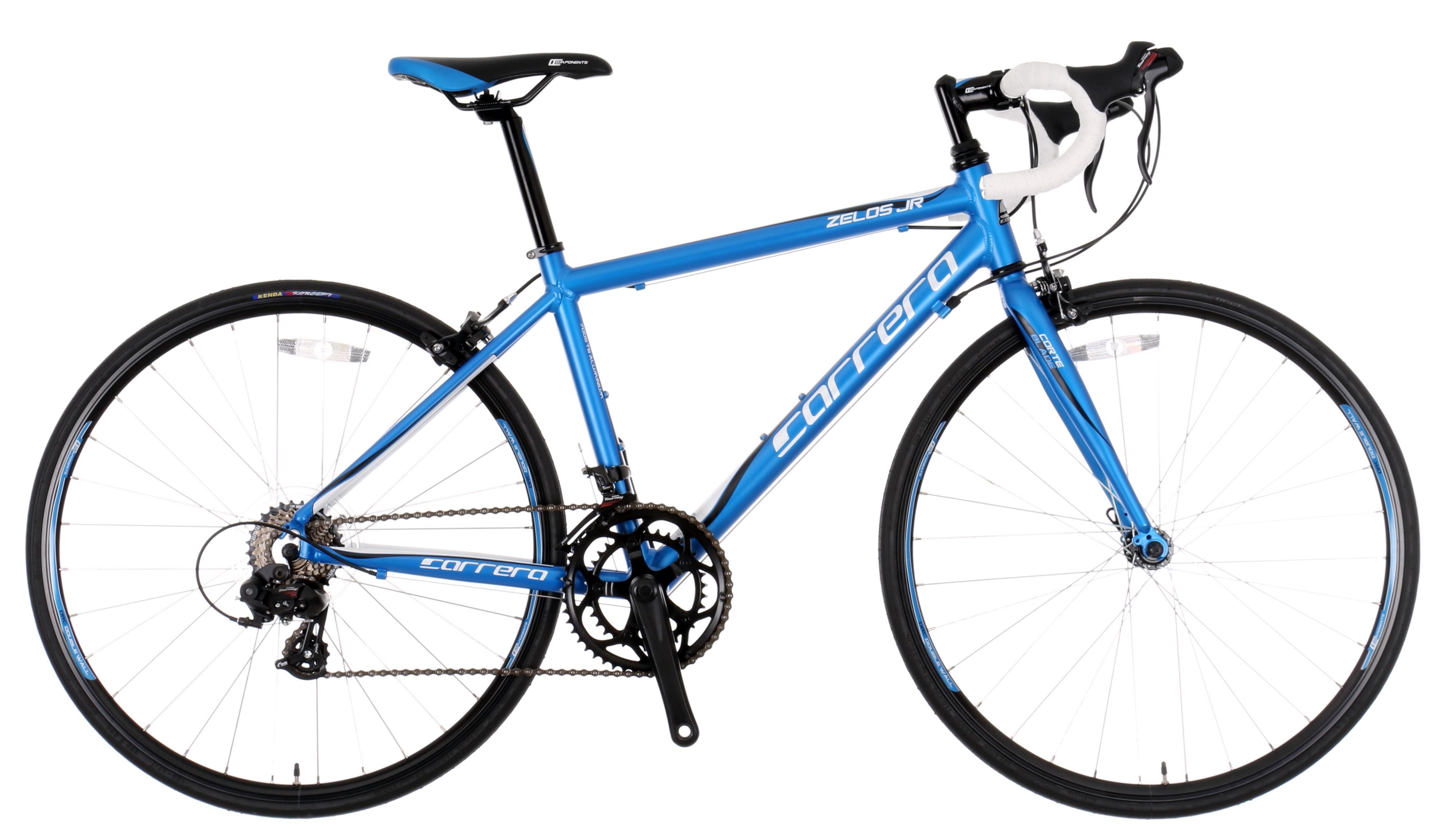Details about Carrera Zelos Junior Boys Kids Road Racing Bike 41cm  Aluminium Frame 14 Speed