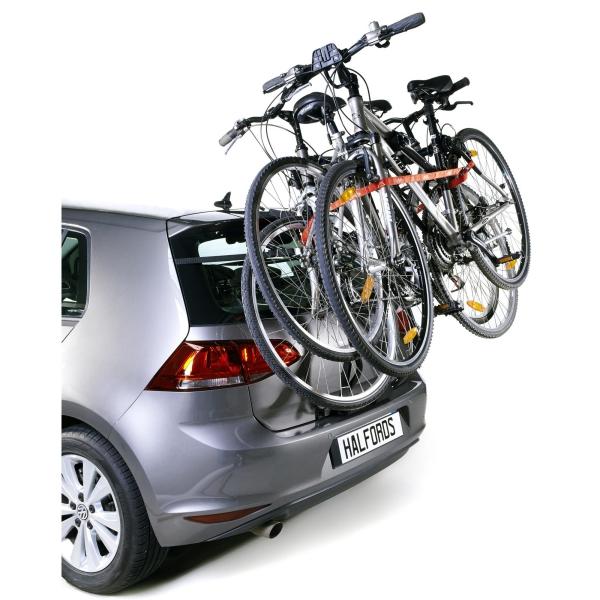Halfords Universal Car Rear High Mount Mounted Rack 3 Bike