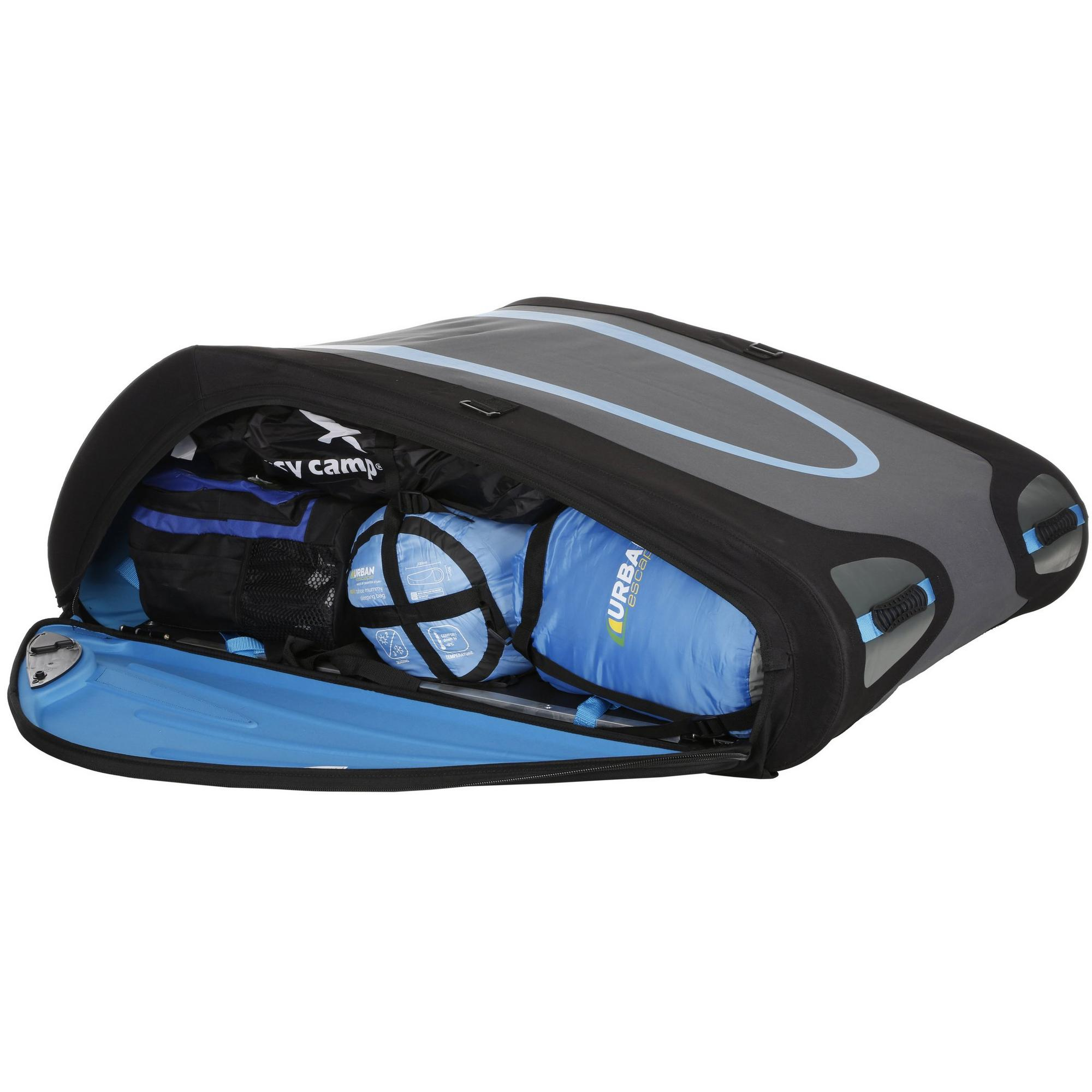 Bag Foldable Box About 370l Litre Flex Cargo Top Luggage Storage Lockable Roof Details Bermude QdCrWoexB