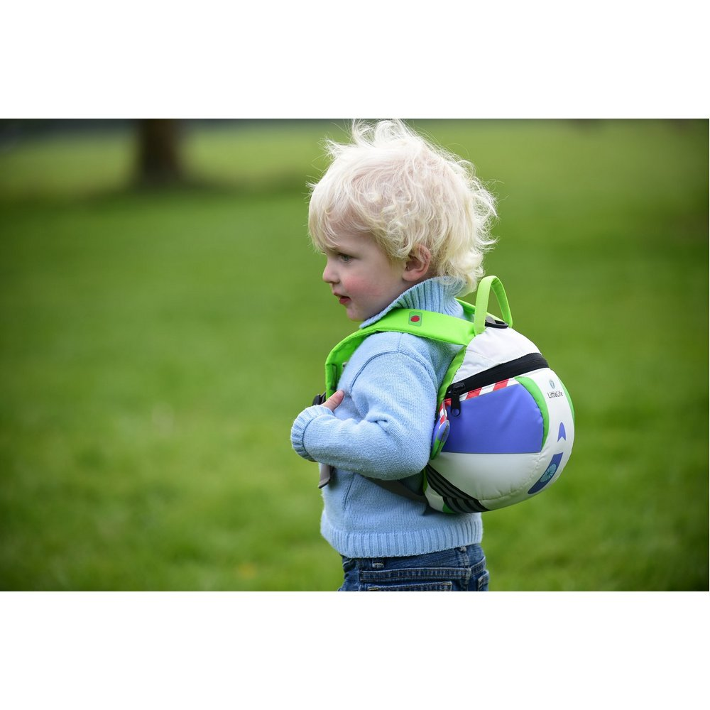 711b9bfd40b LittleLife Buzz Lightyear Child Toy Story Daysack Backpack Rucksack with  Reins