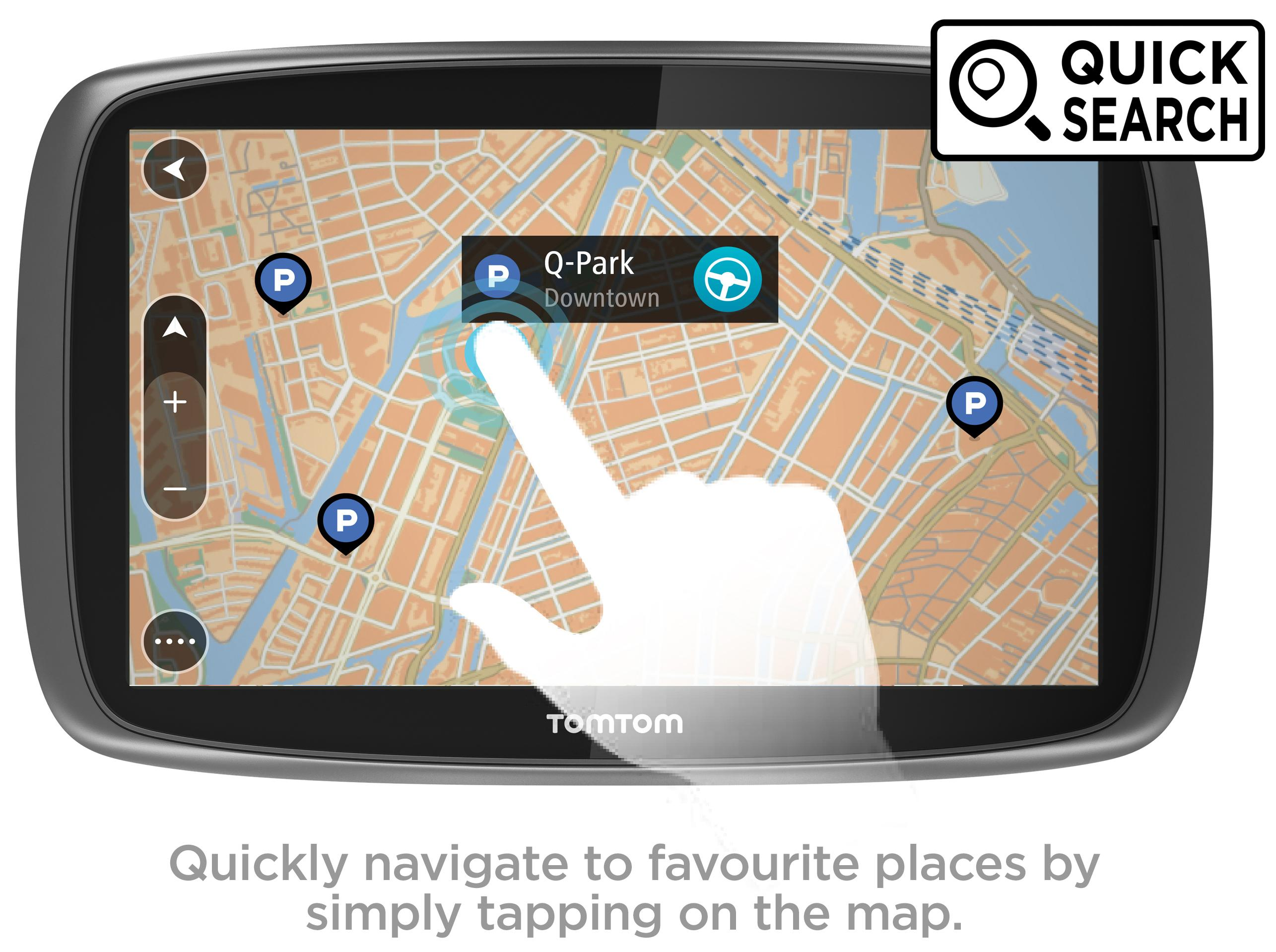 Navigation World Map.Tomtom Go 510 5 Interactive Screen Sat Nav Gps Navigation Mydrive