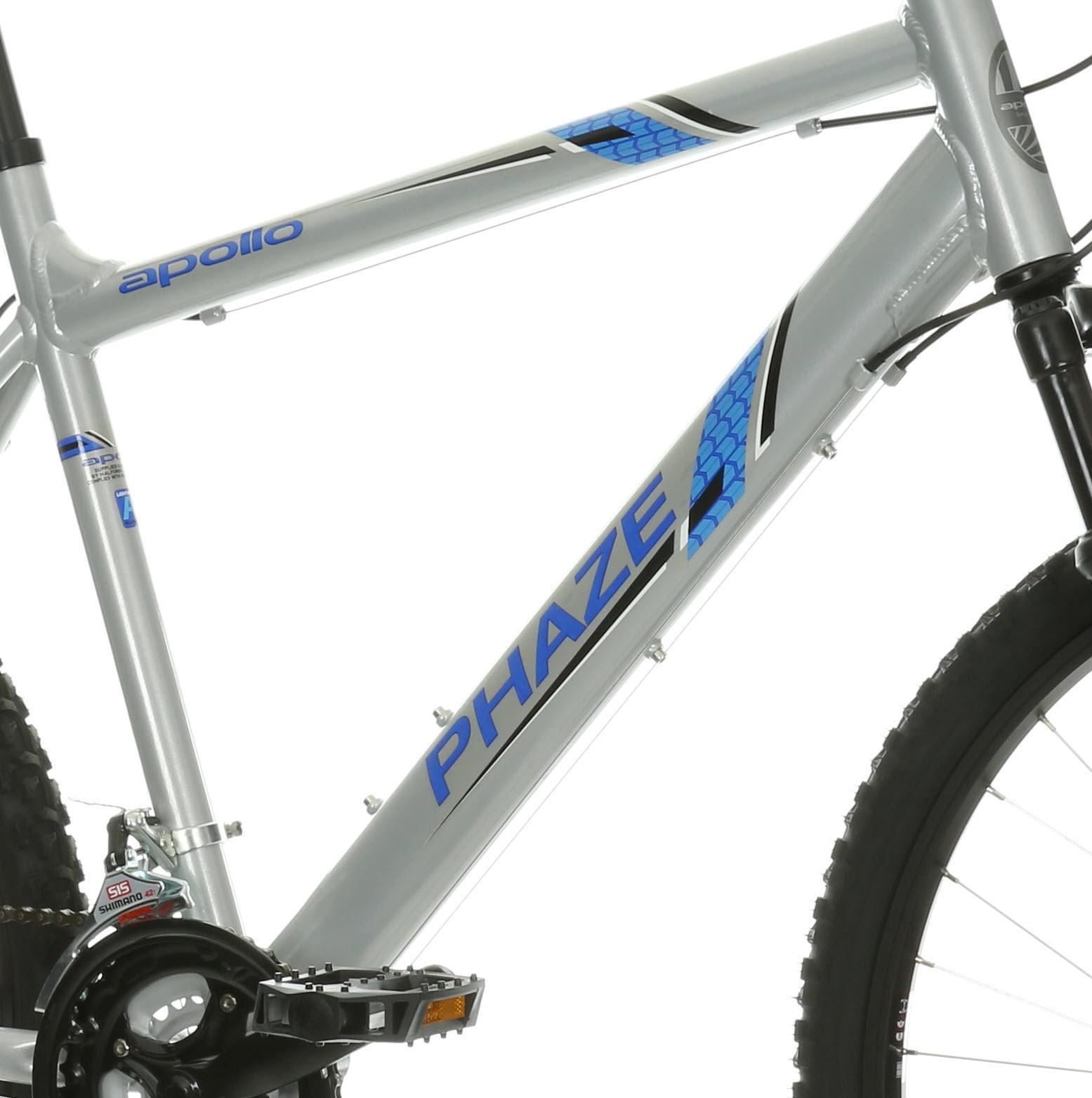 d3092ac11 Apollo Phaze Mens MTB Mountain Bike Front Suspension Alloy Frame 26