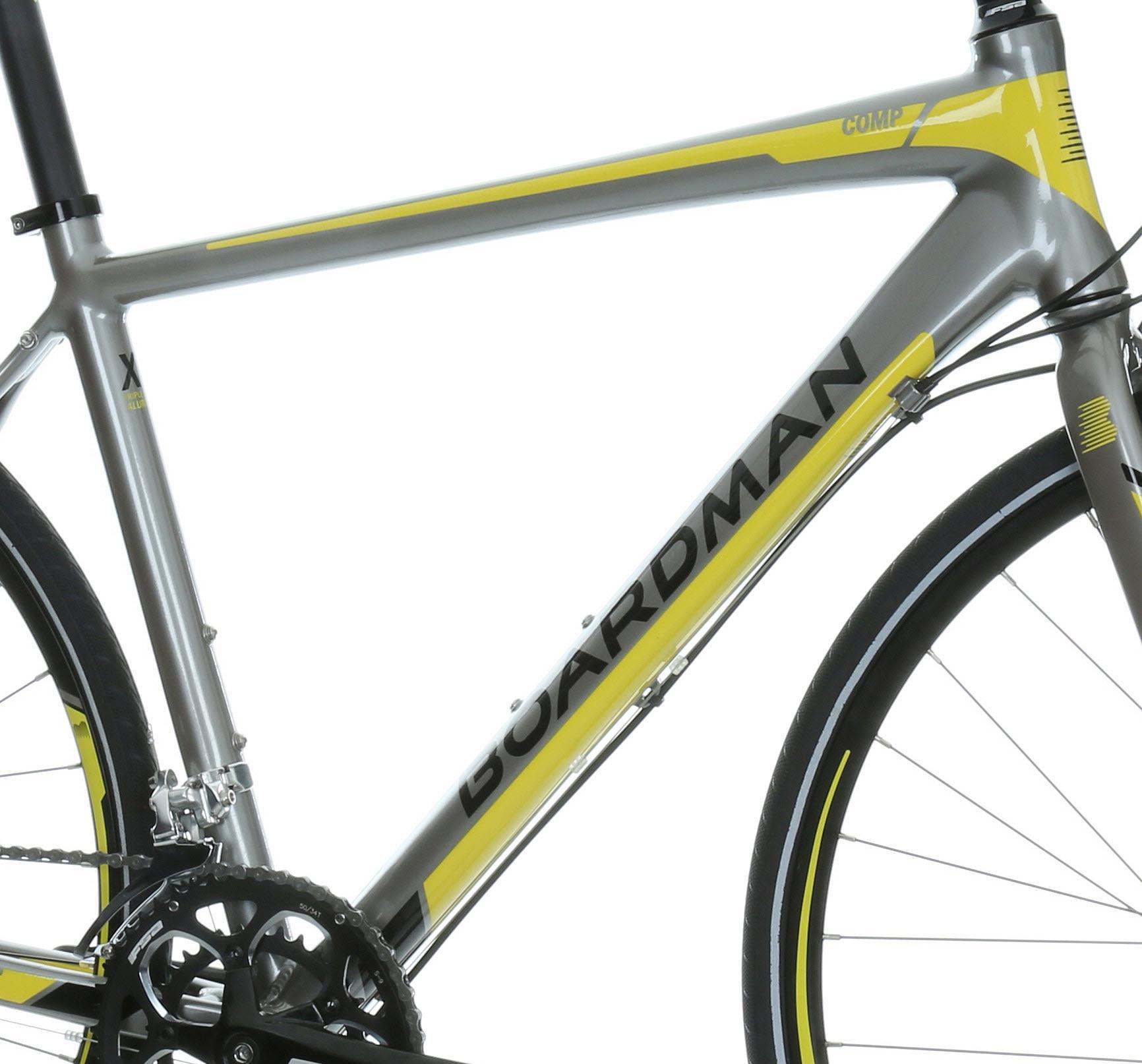 Details about Boardman 2016 Hybrid Comp Mens Bike Bicycle Alloy Frame 18  Speed 700C Wheel