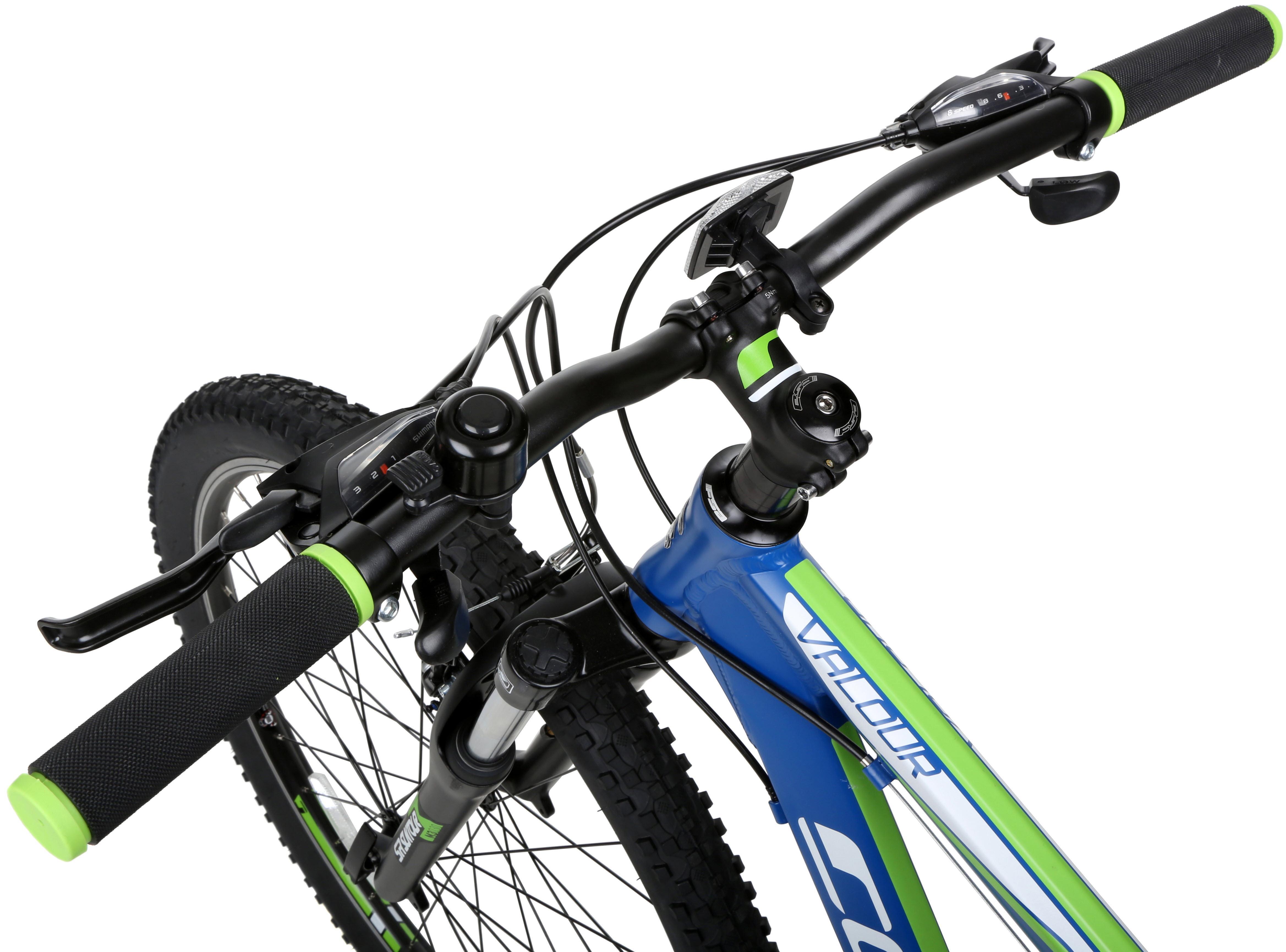 14ef6bf9381 Carrera Valour Mens MTB Mountain Bike 24 Speed Shimano Gears 27.5