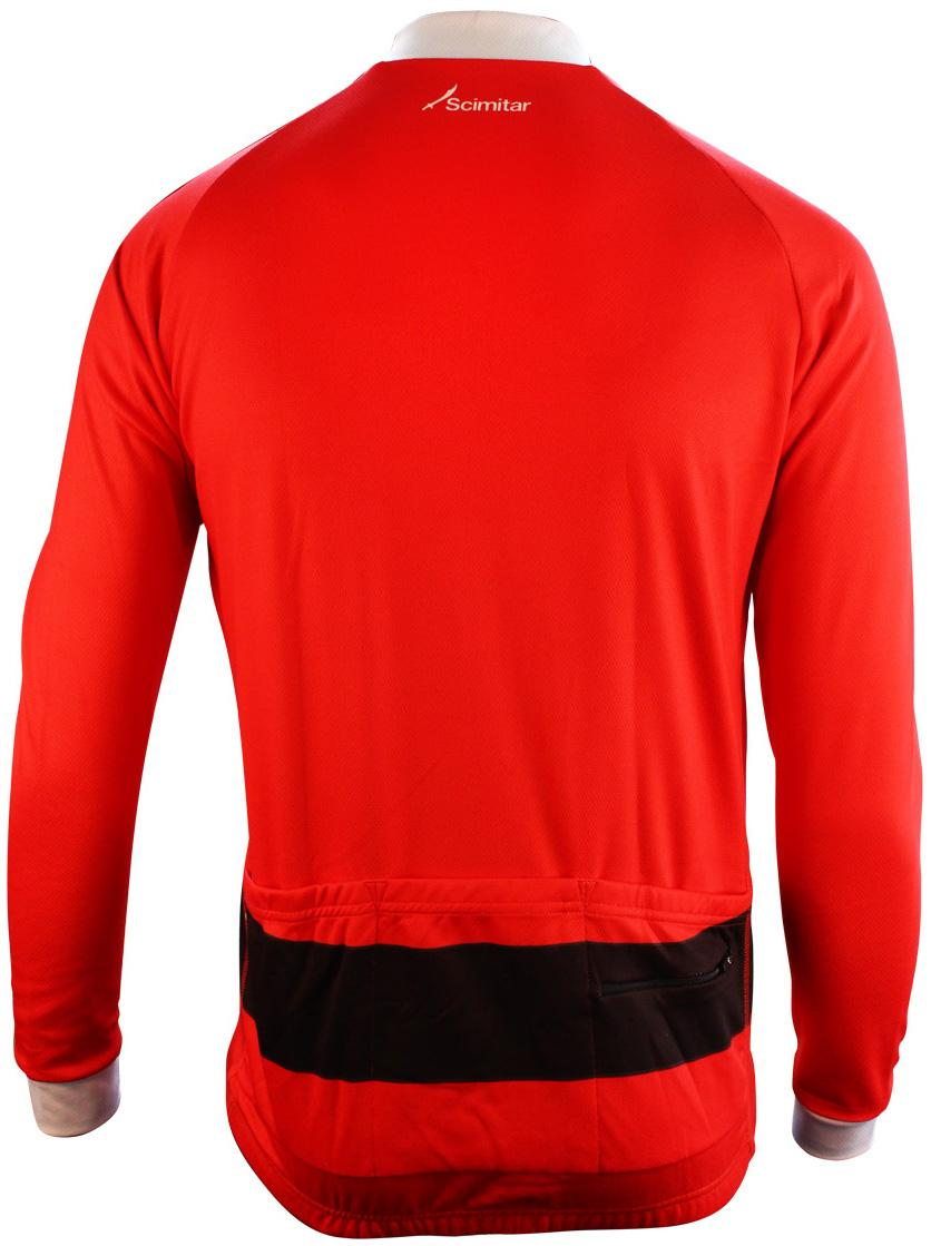 Scimitar Xmas Santa Mens Womens Cycling Warm Full Zip Long Sleeve ... 2771c580e