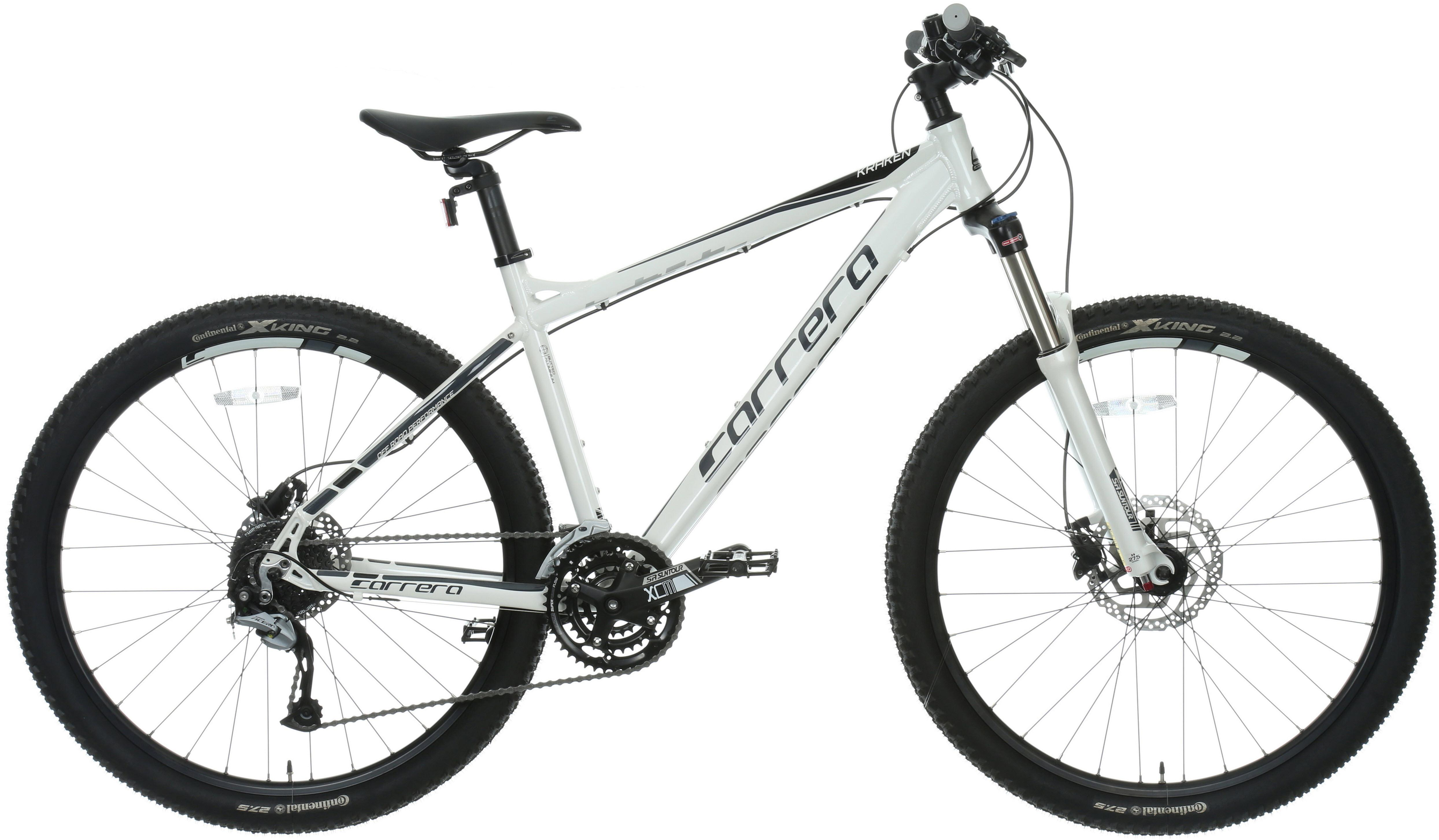 988608564b2 Carrera Kraken Mens Bike MTB Bicycle Alloy Frame 27 Gear 27.5