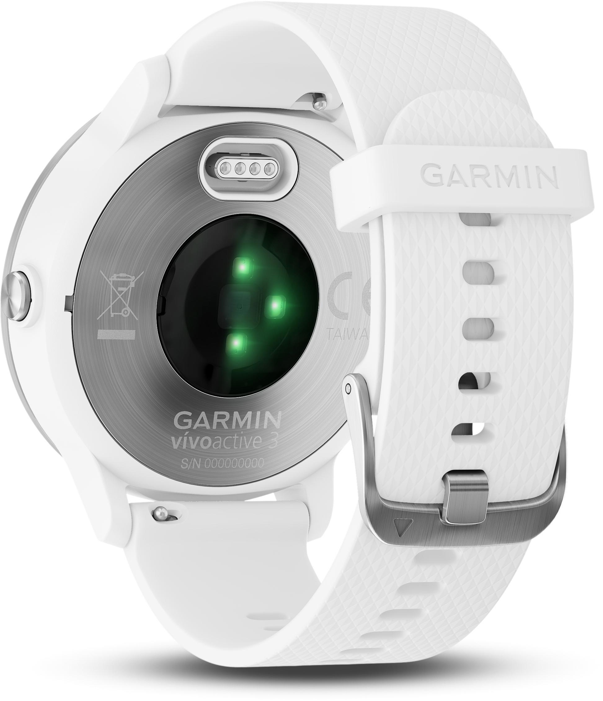 Garmin Vivoactive 3 GPS Smartwatch - White