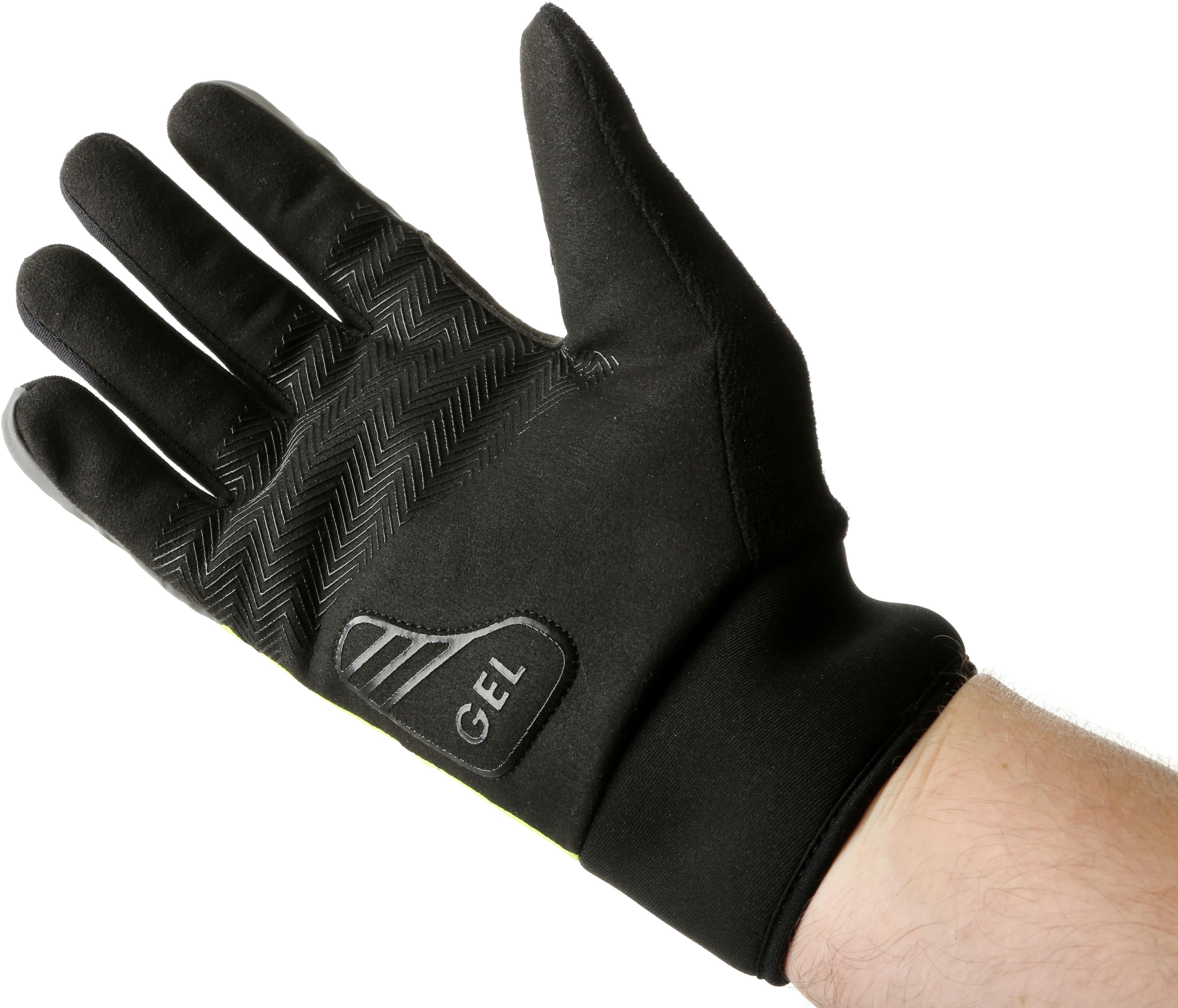 Green Cycle Gloves Waterproof Thermal Reflective Mountain Bike Mittens