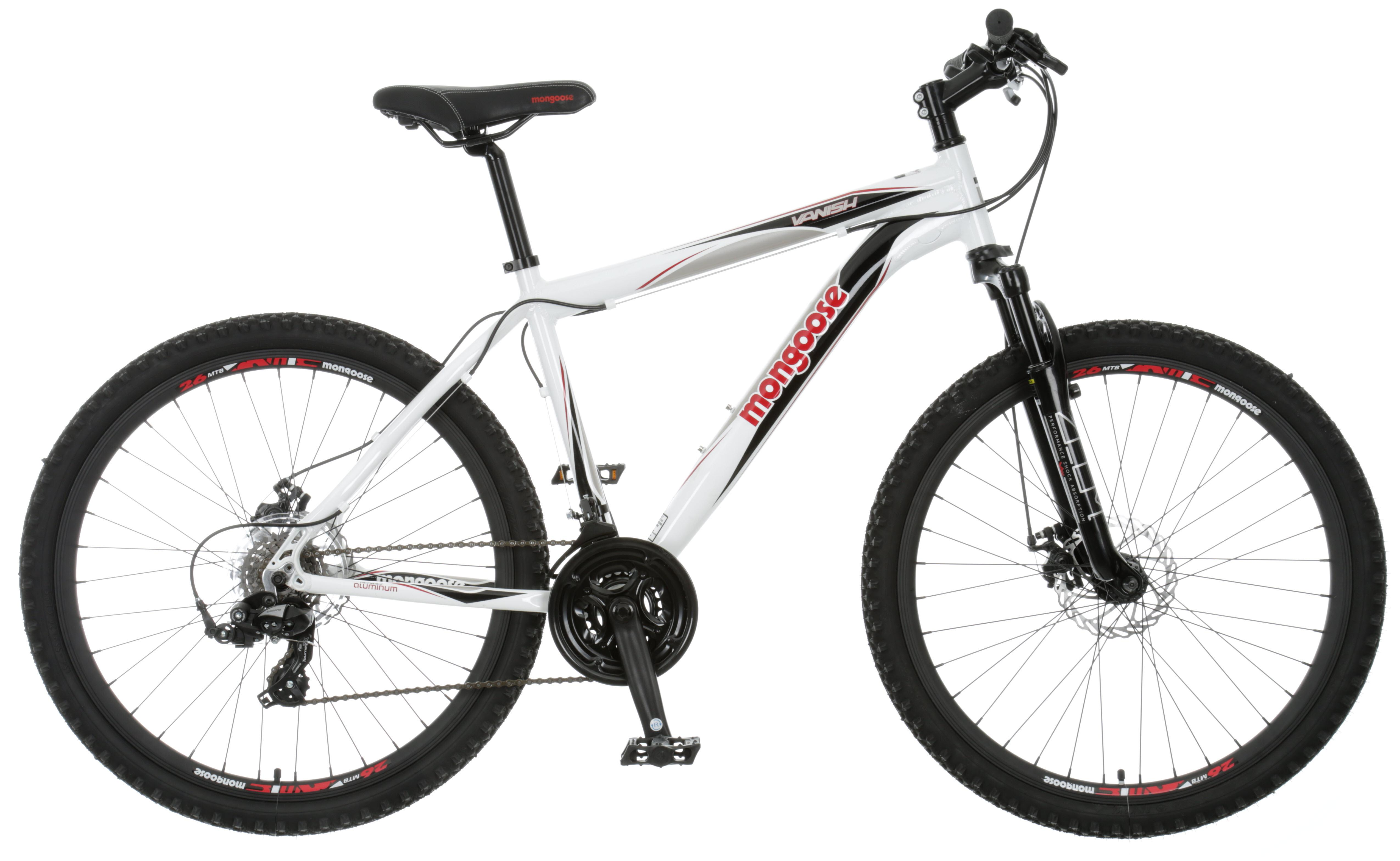 Mongoose Vanish Mtb Mountain Bike Alloy Frame 21 Shimano