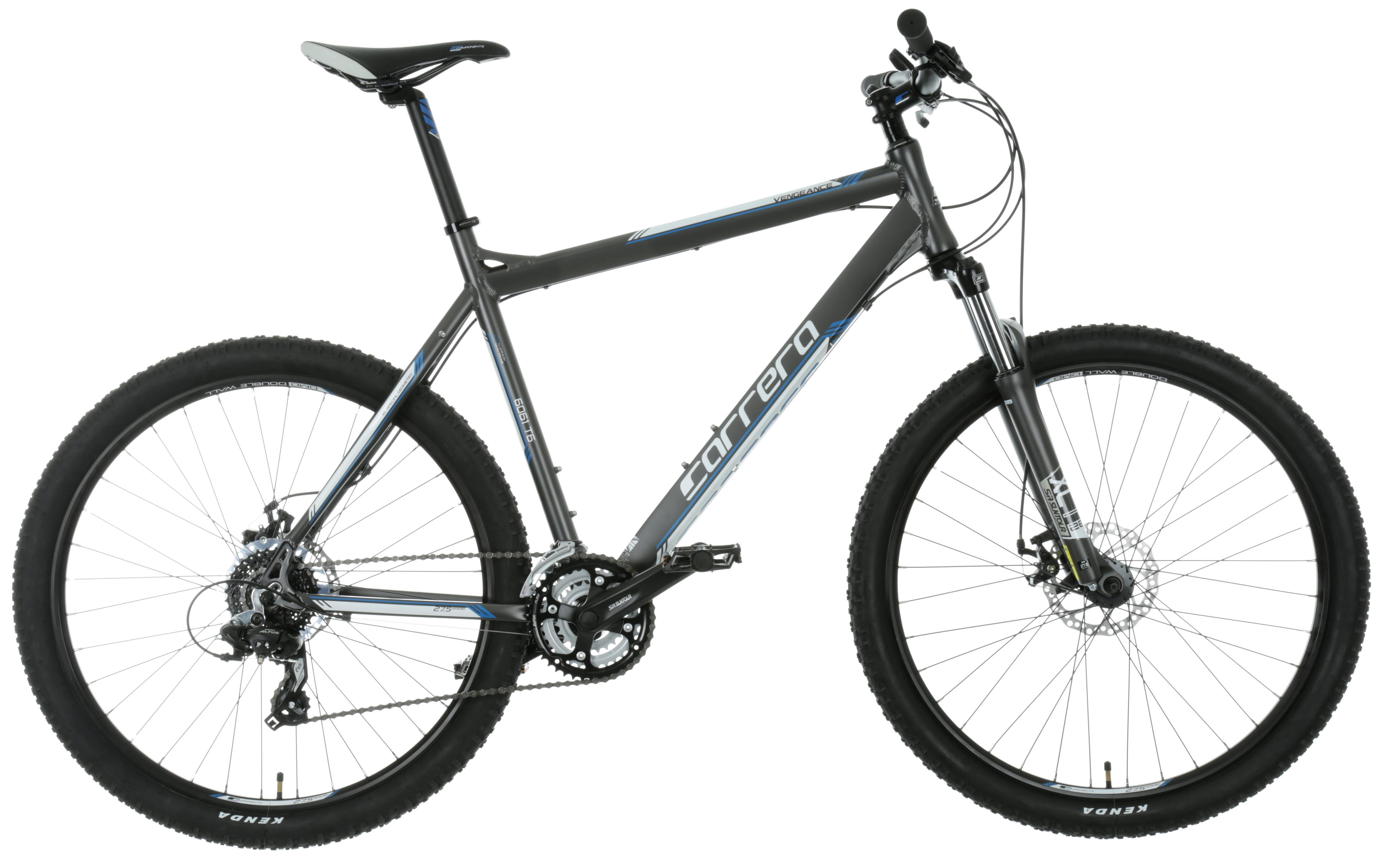 bc60f7baea9 Carrera Vengeance Mens MTB Mountain Bike Alloy Frame 27.5