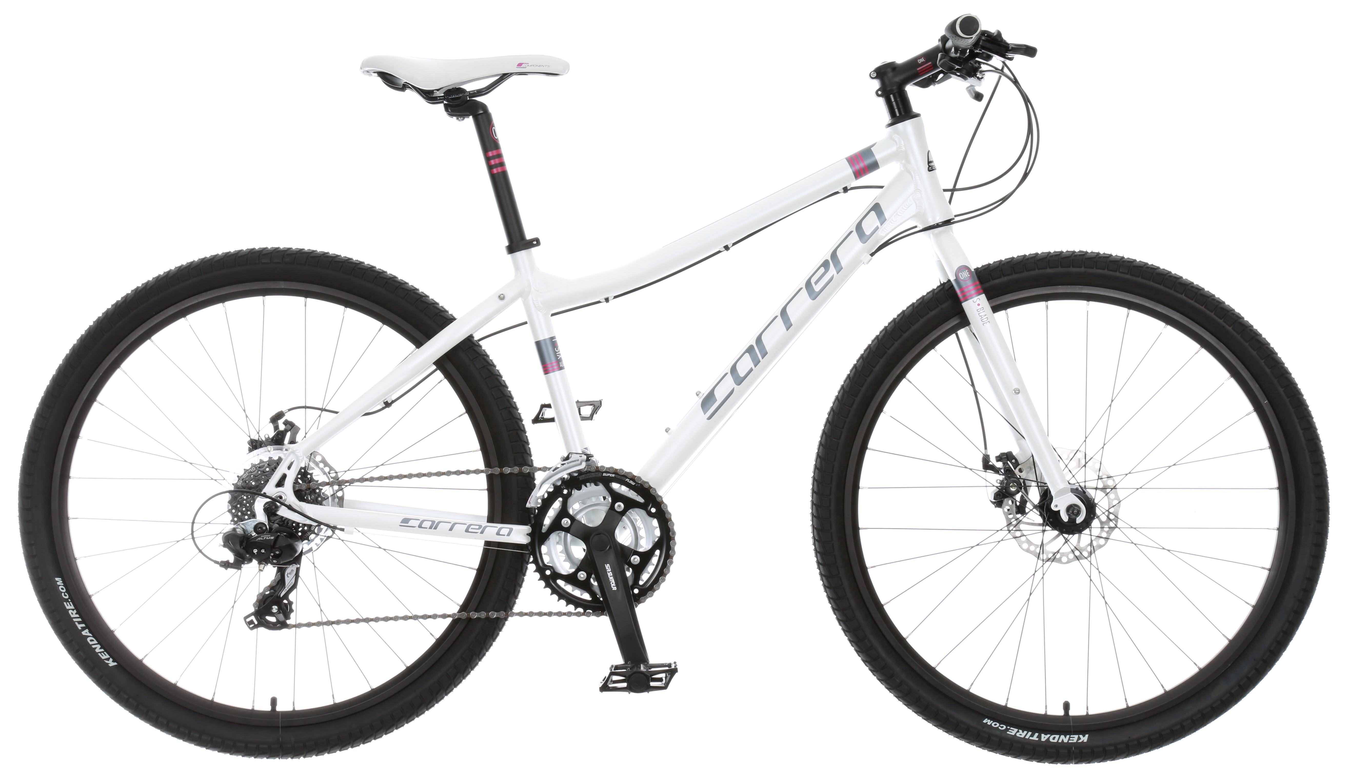 Details about Carrera Subway 1 Womens Hybrid Bike 2015 Alloy Frame 24 Gears  Disc Brakes 27 5